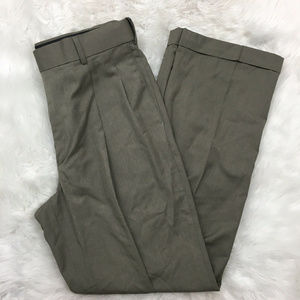 Men's NWT Brown Classic Fit Year Round Dress Pants